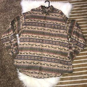 Vintage Woolrich Elk shirt